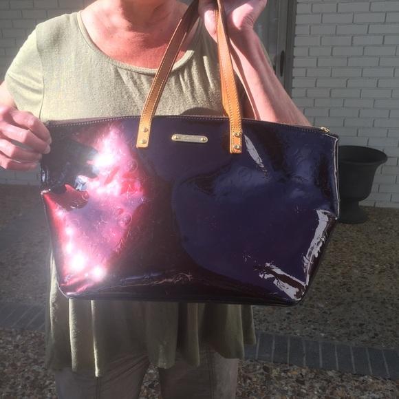 27024d7e8241 Louis Vuitton Handbags - Louis Vuitton Bellevue GM Vernis Amarante